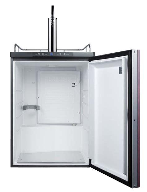 built in kegerator summit sbc635mbiif built in single faucet beer dispenser