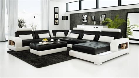 Black And White Living Room Set Leather Living Room Sets Black Living Room Sets