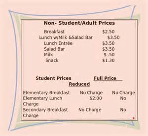 menu template 11 free printable pdf documents
