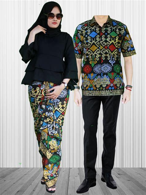 Eliana Set Atasan Pepplum Dan Rok Lilit Batik Set Ori By Khanza sarimbit rok lilit terompet sgb 5 batik prasetyo