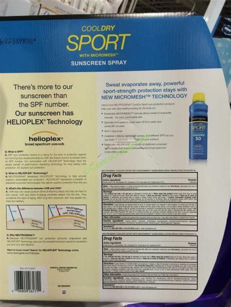 Neutrogena Cooldry Sport Sunscreen Lotion Spf 50 88ml291117 Murah neutrogena cooldry sport sunscreen spray spf 50 lotion