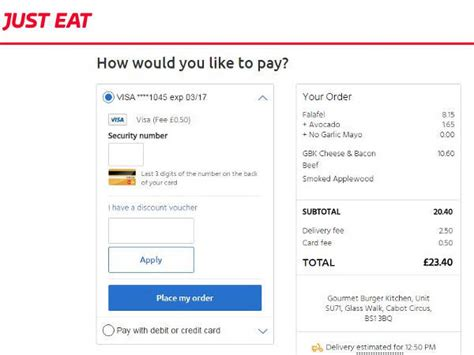 discount vouchers just eat just eat vouchers discount codes get 20 off