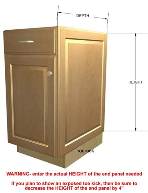cabinet finished end panels kitchen cabinet end panel kitchen design ideas