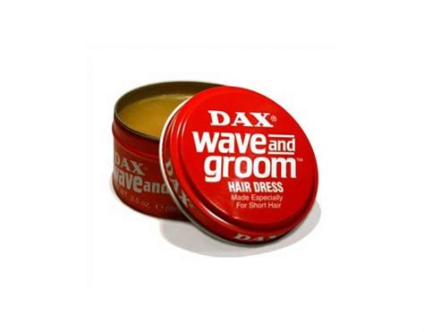 Pomade Dax Wave And Groom dax wave and groom hair dress 3 5 oz barber supplies barber depot