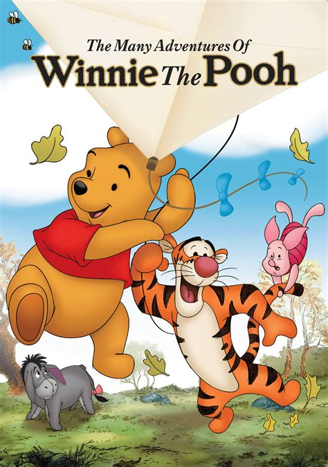 film kartun winnie the pooh the many adventures of winnie the pooh movie fanart