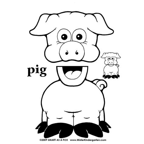 free printable paper bag puppet templates 29 images of farm animal puppet template crazybiker net