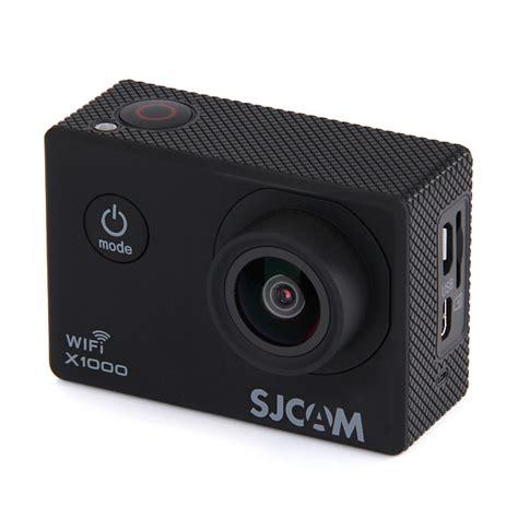Sjcam X1000 Black sjcam x1000 170 degrees wide angle lens 2 quot lcd sport