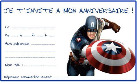 566 Iron 2610 Vs Captain America invitation anniversaire captain america recherche