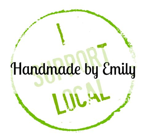 Local Handmade - i support local handmade by emily sew today clean tomorrow