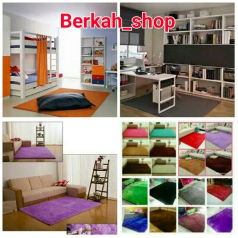 Karpet Bulu Tebal karpet bulu tebal total 6cm shopee indonesia