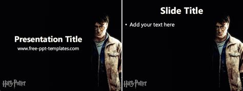 Harry Potter Ppt Template Free Powerpoint Templates Harry Potter Powerpoint Template