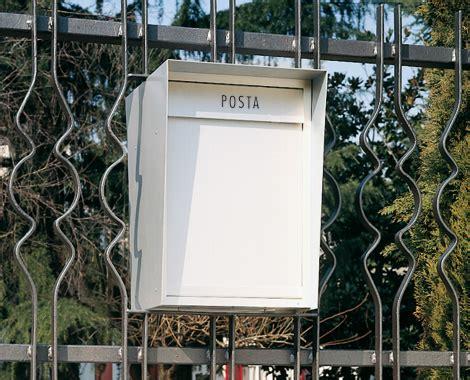 cassetta della posta in inglese cassette singole accessori cassette postali e casellari