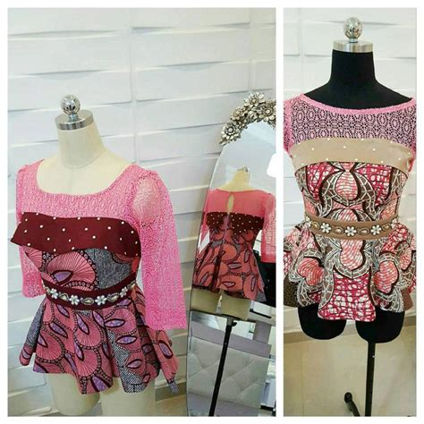peplum styles for materninty with ankara top ten awesome ankara combinations styles that will make