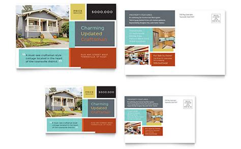 Real Estate Postcard Templates Word Publisher Real Estate Postcard Templates Word