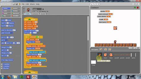 tutorial youtube scratch scratch mario tutorial part 4 youtube
