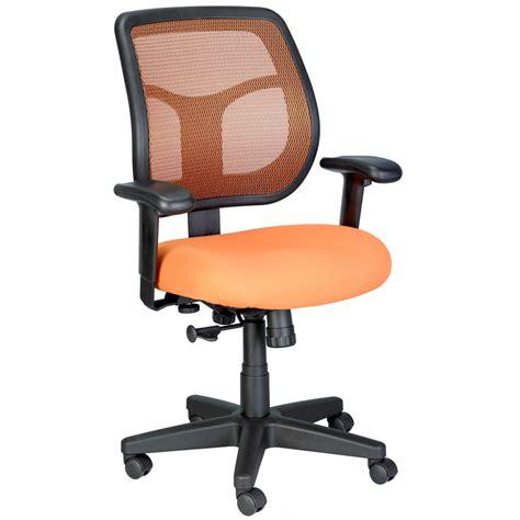 Apollo Mesh Back Swivel Chair With Fabric Seat Zuri Back Swivel Chair