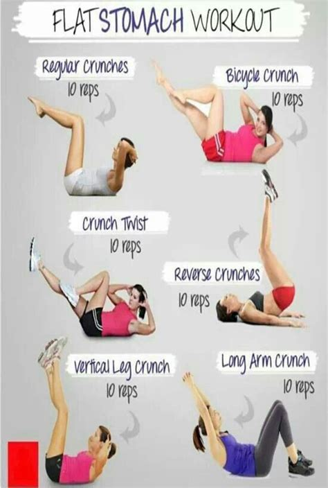 Exercise For Stomach At Home by Flat Stomach Workout