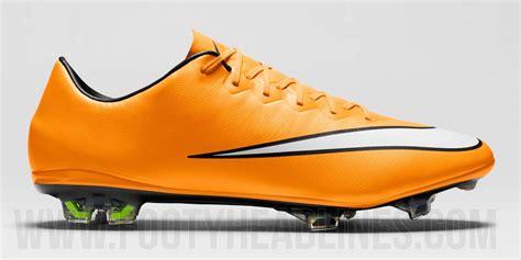 Nike Mercurial orange nike mercurial vapor x 14 15 boot released footy headlines