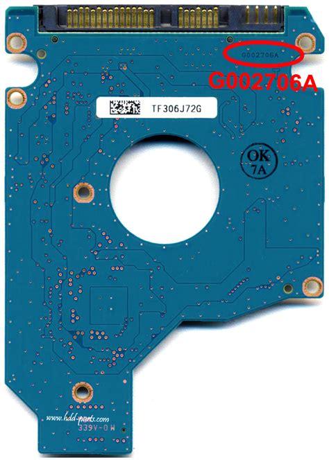 Pcb Toshiba 10 Set toshiba mk3265gsxf goo2706a hdd2j63 p tv02 t g002706a