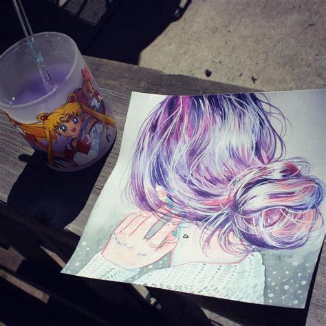 watercolor tutorial hair 36 best zwei aquarelle mit laternenkindern entstehen