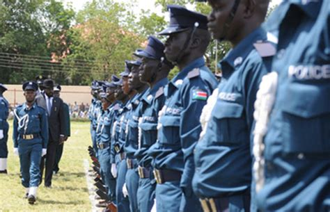 south sudan police meet quot hero quot police officer president kiir promoted for