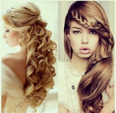 Hairstyles For Hair Curly Hair by Prom Hairstyles For Curly Hair Hairstyles Ideas