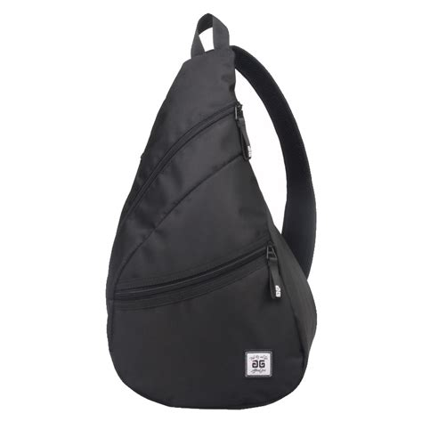 C772 Black Sling Bag aftergen sling bag black