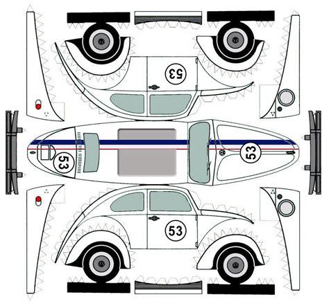 Vw Beetle Vase Vw Beetle Herbie Paper Cars Vehicles Pinterest