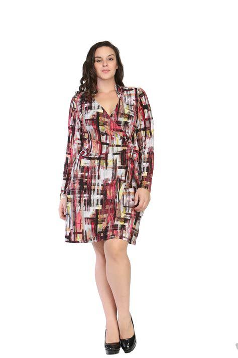 Dress Seven twenty four seven comfort apparel s plus size geometric studio dress clothing shoes