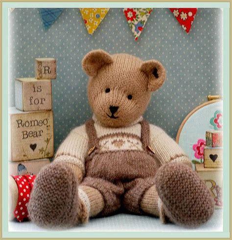 Handmade Teddy Patterns - romeo teddy knitting pattern pdf email