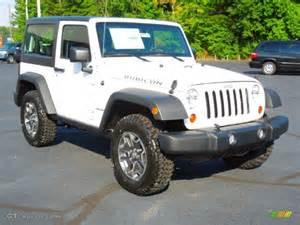 2013 bright white jeep wrangler rubicon 4x4 70687755