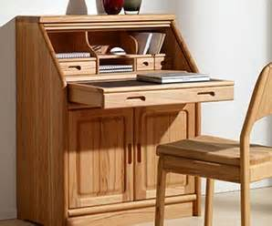 Small Wooden Writing Bureau Luxury Bureaus Contemporary Solid Wood Furniture Wharfside