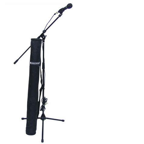 Kabel Microfon 4 Mter mikrofon set mit stativ kabel tasche omnitronic cmk 10 ebay