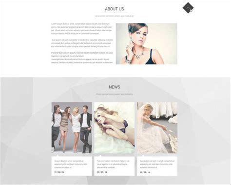 45 Model Agency Website Templates Free Website Themes Modeling Website Templates Free