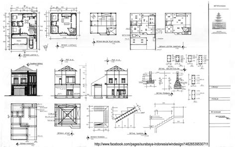 contoh order   rumah tinggal  lantai  bekasi