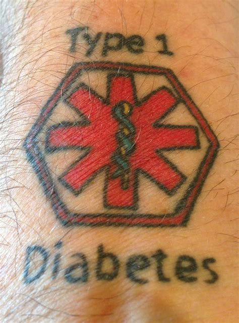 type 1 diabetes tattoos on wrist 78 best images about alert tattoos on
