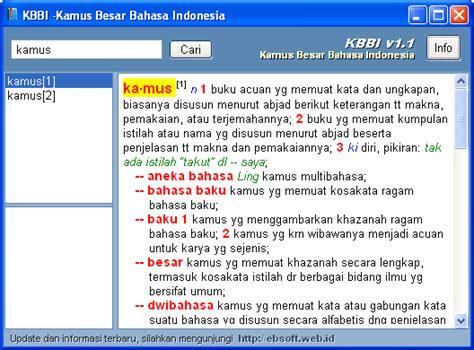 Kamus Bahasa Indonesia Terbaru 1995 kbbi kamus besar bahasa indonesia offline gratis xx mirbro xx