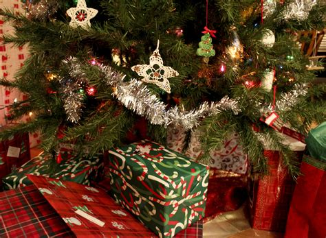 images of christmas gifts under the tree presents under the tree our stone pile
