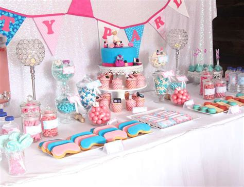themes for a girl s 11th birthday party spa party ideas for little girls home party ideas