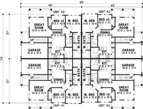 20 bedroom house plans traditional style house plans 9402 square foot home 2 story 20 bedroom and 20 bath 4