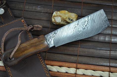 Handmade Machetes - custom made handmade damascus knife machete work