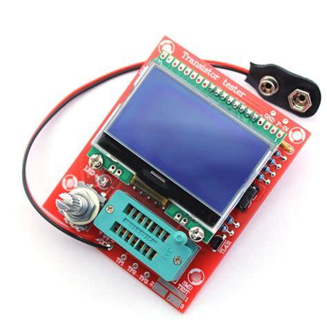 transistor version hiland diy m12864 graphics version transistor tester kit lcr esr pwm 12volt