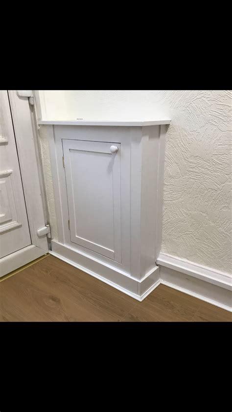 Meter Cupboard Doors - electricity and has meter cupboard in hallway joinery