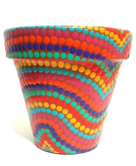 dipingere vasi di terracotta dipingere vasi di terracotta quello sbagliato vintage