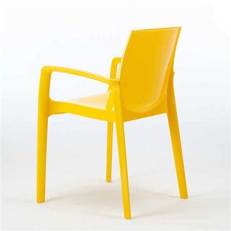 sedie grand soleil sedia in polipropilene per bar cucina soggiorno impilabile