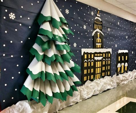 polar express decorating theme learning as i sew bake cut and create polar express themed d 233 cor 3d tree town