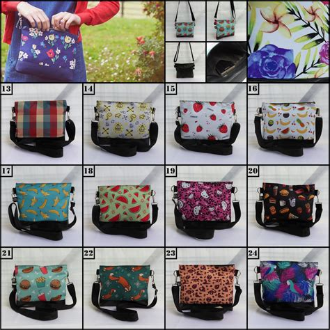Korean Travelling Iconic Cube Bag Tas Travel Selempang Korea 4 model sling bag bags more