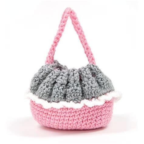 crochet pattern for purse with doll mary maxim cradle purse doll kit doll kits dolls