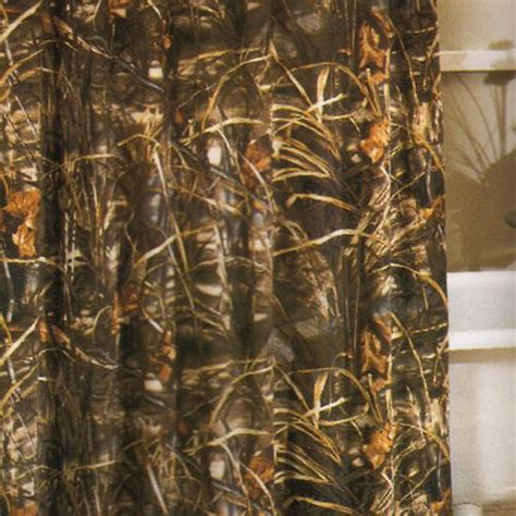 Max 4 Camo Shower Curtain realtree max 4 camouflage shower curtain