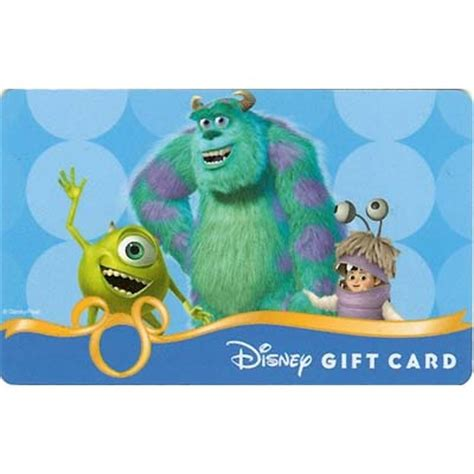 Monster Gift Card - your wdw store disney collectible gift card monsters inc